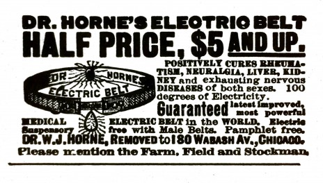 Dr. Horne's Electric Belt